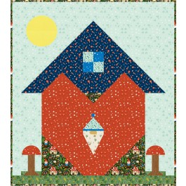 "The Heart of a Gnome Quilt by Charisma Horton /476""x53"""