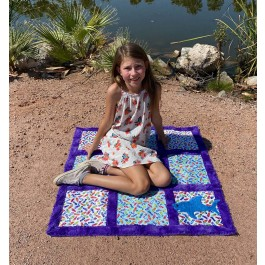 Let's Play Kids Play Mat by Mckay Manor Musers  feat. good vibes only