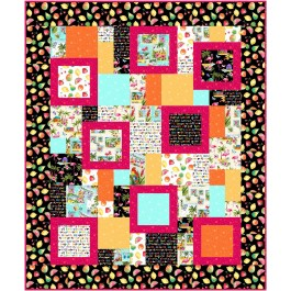 "Perfect Ten Quilt Greeting From... by Swirly Girls Design 60""x72"""