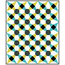 "Exclamation Quilt by Susan Emory  /60""x72"""