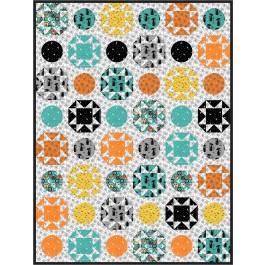 "Polka Dot Hocus Pocus by Charisma Horton 72""x96"""