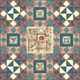 """I Have a Notion Quilt by Susan Emory /60""""x60"""""""