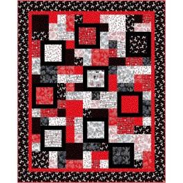 "Big ten Quilt by Susan Emory /86""x106"""