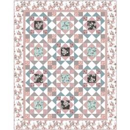 """Jolene Pink Quilt by Heidi Pridemore /69""""x87"""""""