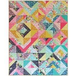Joyful Quilt by Tamara Kate /80x100""