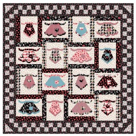 "Grandma's in the kitchen quilt by penni Domikis 60""x60"""