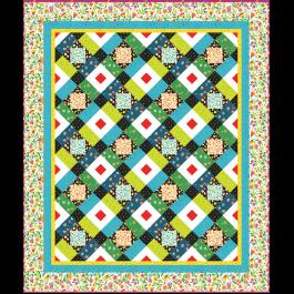 "Melodies Quilt by Heidi Pridemore / 64x76"""