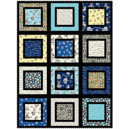 """cats in the garden quilt by heidi pridemore 48""""x64"""""""