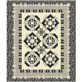 """New Beginnings- Cream  Quilt by Susan Emory /92""""x102"""""""