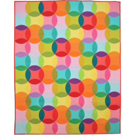 Over the Rainbow Quilt by Emily Herrick / 56x70""