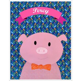 """Percy Quilt  by Shiny Happy World /42""""x42"""""""