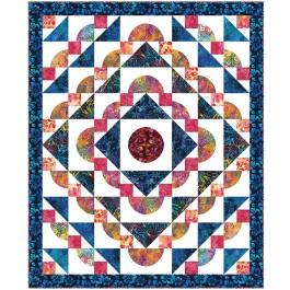 """Rippling Waves Quilt by Heidi Pridemore /54""""x66"""""""