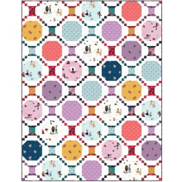 "Sewing 101 Little Sewists Quilt by Wendy Sheppard /56""x72"""