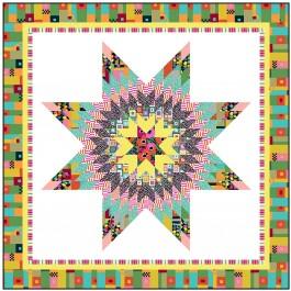 """Starburst Quilt by Wendy Sheppard /65""""x65"""""""
