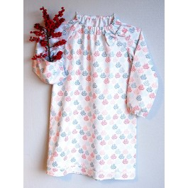 Strawberry Tea Antigone Pierrot Collar Nightgown