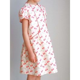 Strawberry Tea Forget me Not Girl Dress