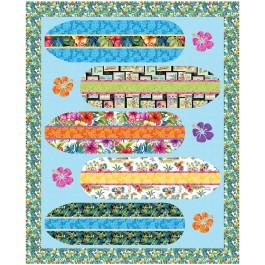 """Surfin' USA Quilt by Natalie Crabtree / 60""""x74"""""""