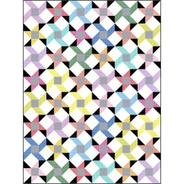 """Sway Back Quilt by Charisma Horton /72""""x96"""""""