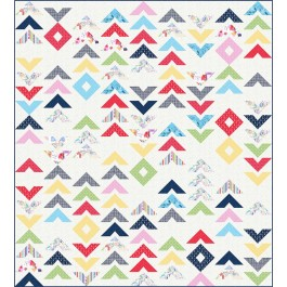 "way to Go Quilt by Wendy Sheppard /89""x98"" - Pattern will be available in June"