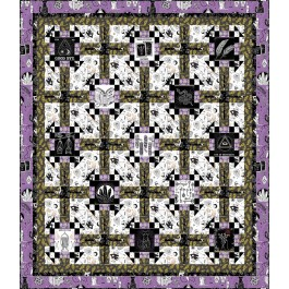 """Hopscotch Quilt by Tammy Silvers 62""""x72"""""""