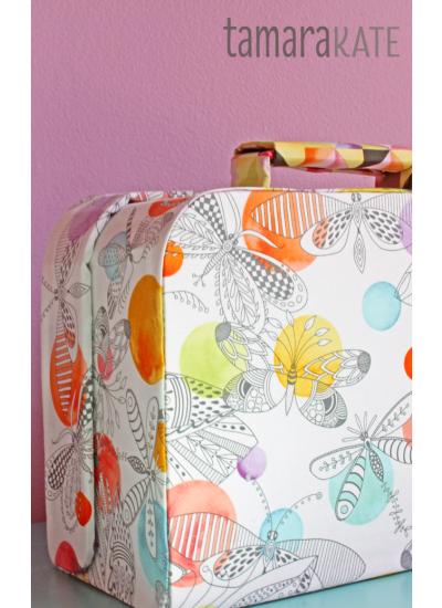Dappled Migration Suitcase