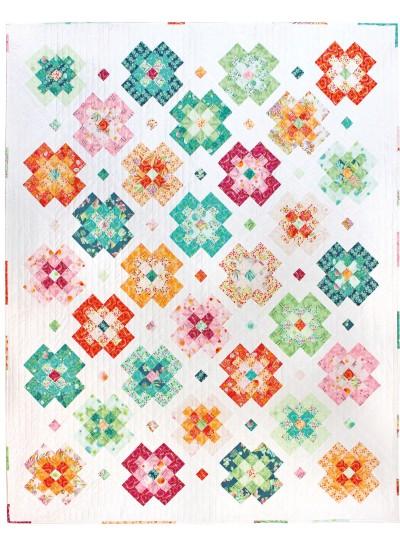 Flower Field Quilt by Tamara Kate