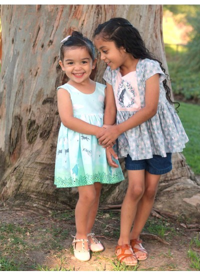Tea Party Dress and The Ava Dress Top - believe
