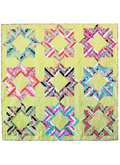 "Belleflower Quilt by Tamara Kate /66""x66"""