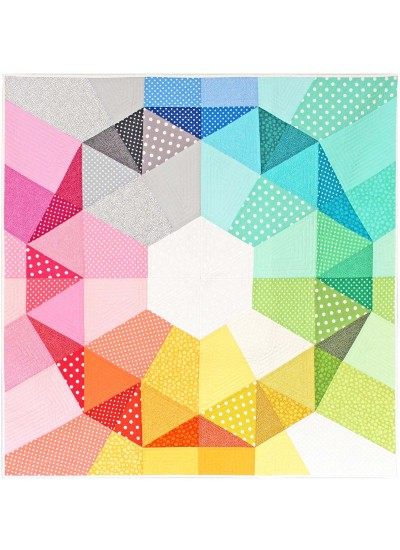 "Big Bling Quilt by Tamara Kate /54""x54"""