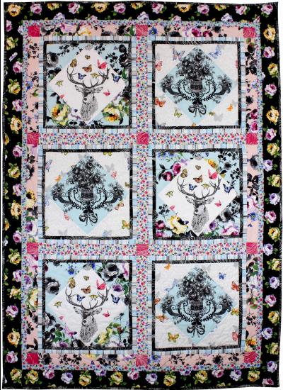Butterfly Garden Quilt by Marinda Stewart