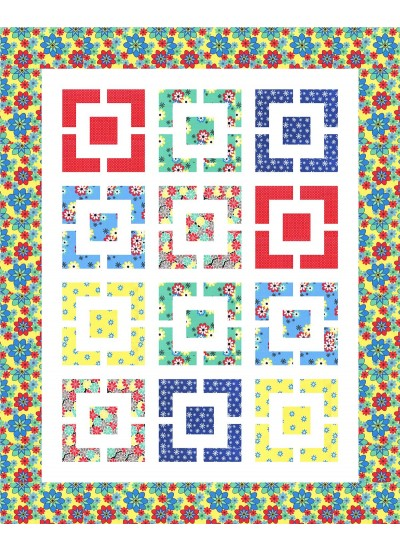 Chatterbox Quilt By Susan Emory 58x72 Inspirations Swirly