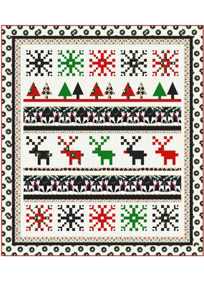 "Christmas Sweater by Wendy Sheppard /70""x80"""