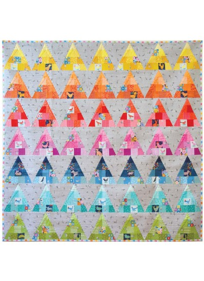"""Clay Court Quilt by Sassafras Lane Designs /40""""x56"""""""
