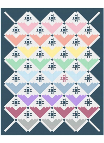 "Color Couture Quilt by Wendy Sheppard /81.5""x100.5"""