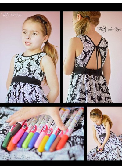 Color Me Dress by That's Sew Kari