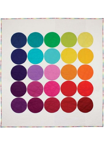 Cotton Couture circle quilt Inspiration
