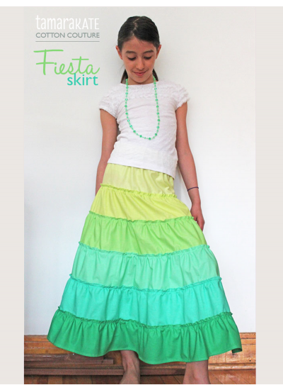 Cotton Couture - Fiesta Skirt by Tamara Kate