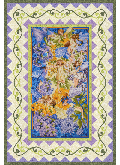 Dawn Fairies Quilt by Heidi Pridemore