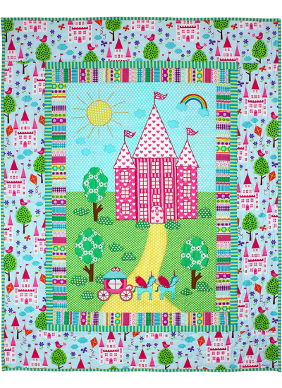 Enchanted Castle Quilt by Marinda Stewart