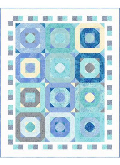 Octagon Alley Quilt by Heidi Pridemore