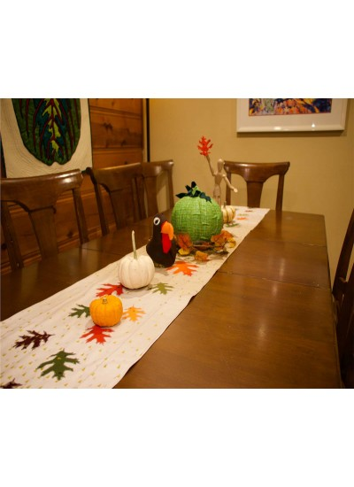 Fall Table Runner by Rob Appell