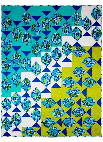 """Fish Frenzy by Ellen Maxwell / 40x52"""""""