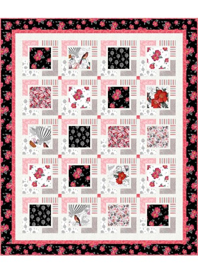 "Float Away Quilt by Seams Like a Dream /55""x66"" - Pattern will be available in August"