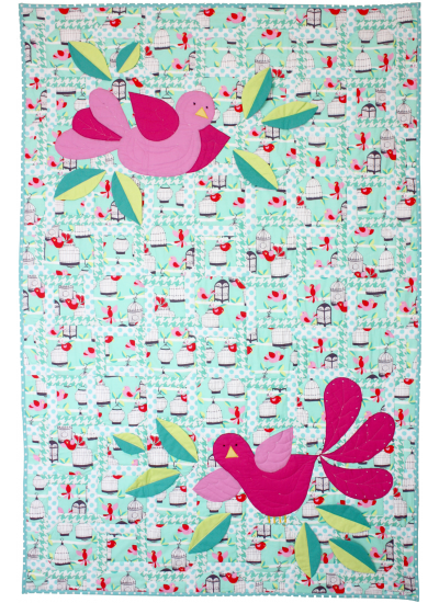 Fly Away Quilt by Marinda Stewart  / 40x60""
