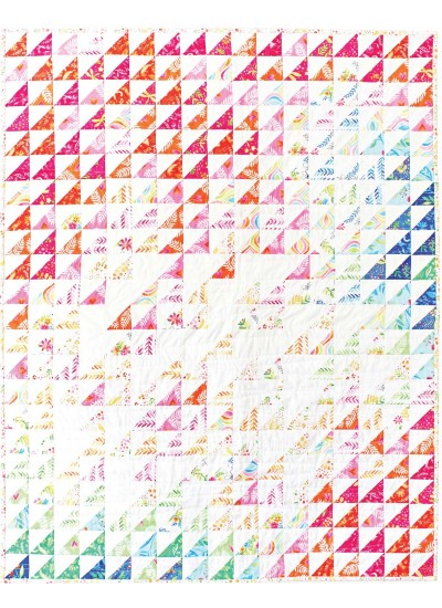 "Frolic Field Quilt by Tamara Kate  / 35""x44"""