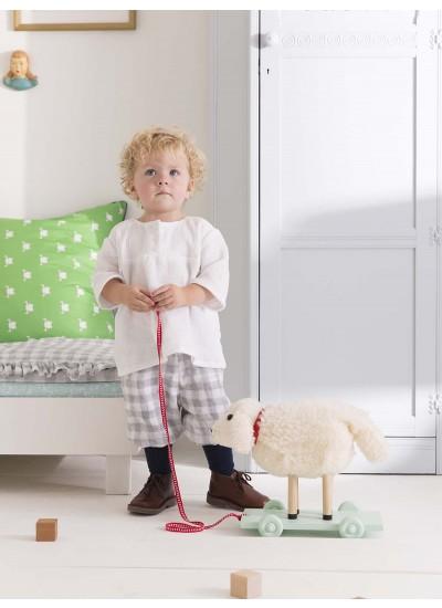 Gauze Baby Shorts and Blouse