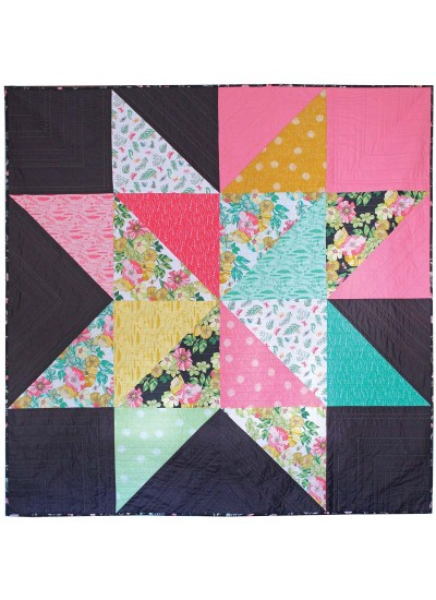 Giant Star Quilt By Jenni Baker 68x68 Inspirations Tamara Kate