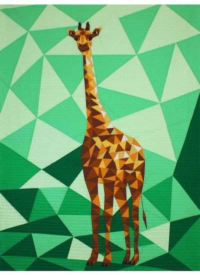 """Jungle Abstractions: The Giraffe by Violet Craft - 44x60"""""""