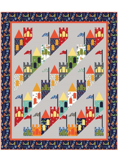 Good Knight Quilt By Heidi Pridemore 65x77 Inspirations Good