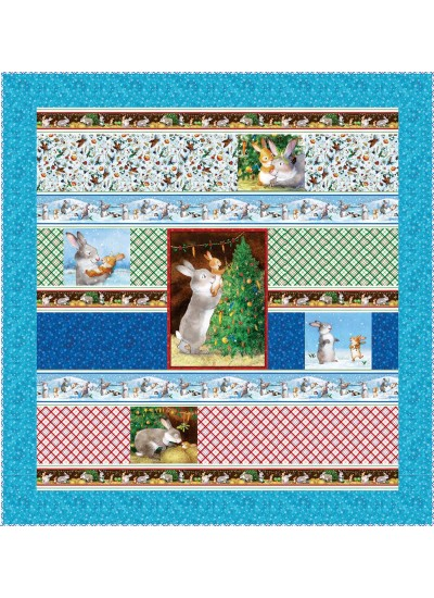 "Chrismas Wishes by Susan Emory 64""x62"" -Pattern Available in April, 2021"